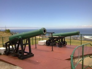 The Noon Guns atop Signal Hill