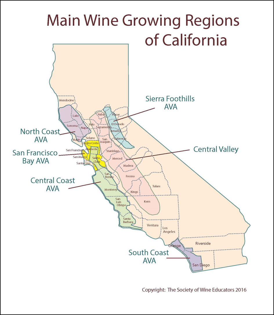 us wine california region essay