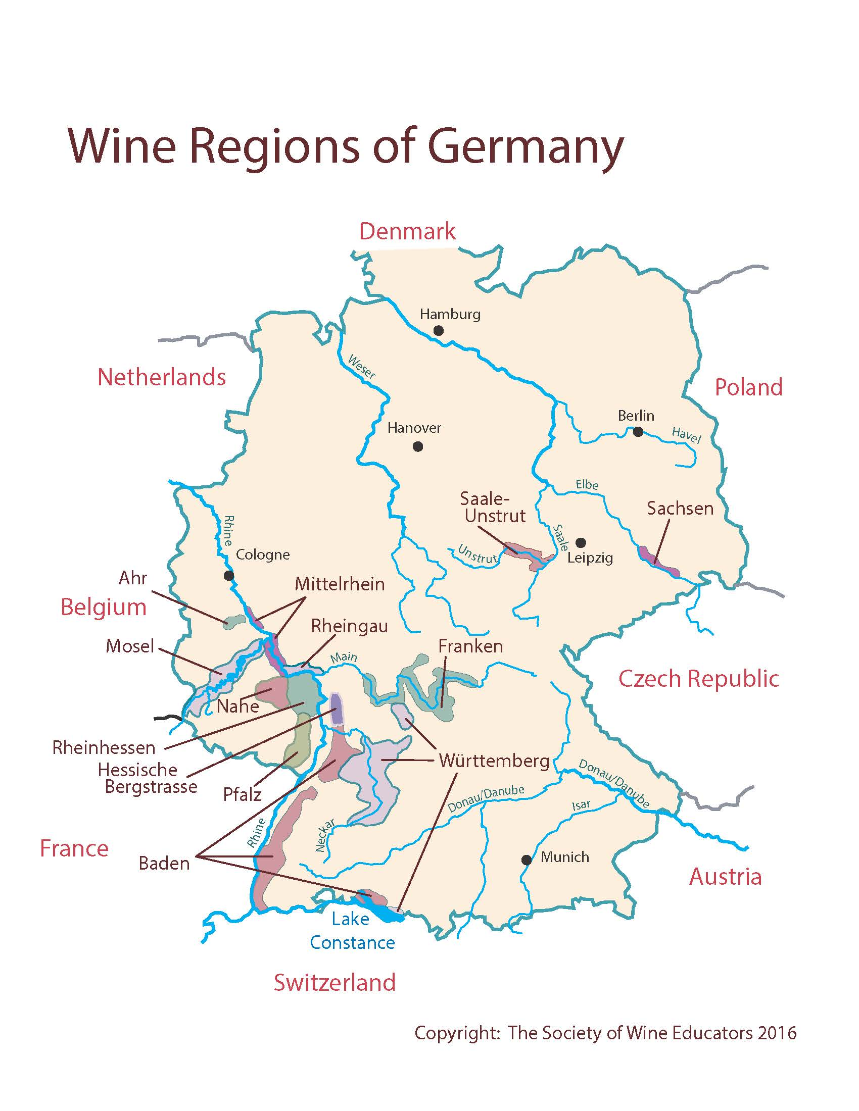 Map Of Austria And Germany Map Of Essex County Nj Map Of North Florida - Germany map 2017