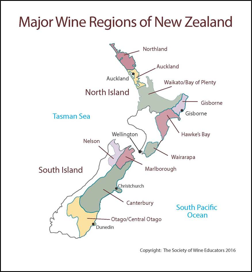 New Zealand SWE Map 2016