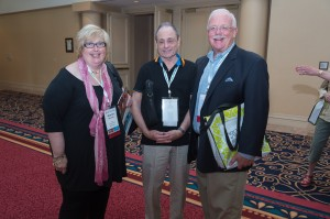 Sharron McCarthy, CSW, Director Emeritus;  William Lembeck, CSS, CWE, Director Emeritus; and Neill Trimble, Treasurer