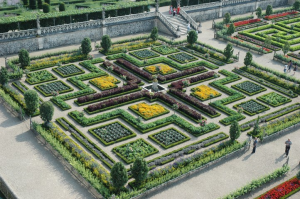The Kitchen Garden at Château de Villandry