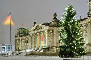 Germany State Building Winter