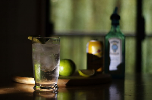 Fig 4-10 A Classic Gin and Tonic