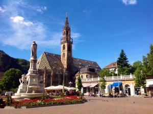 Piazza Walther in Bolzano
