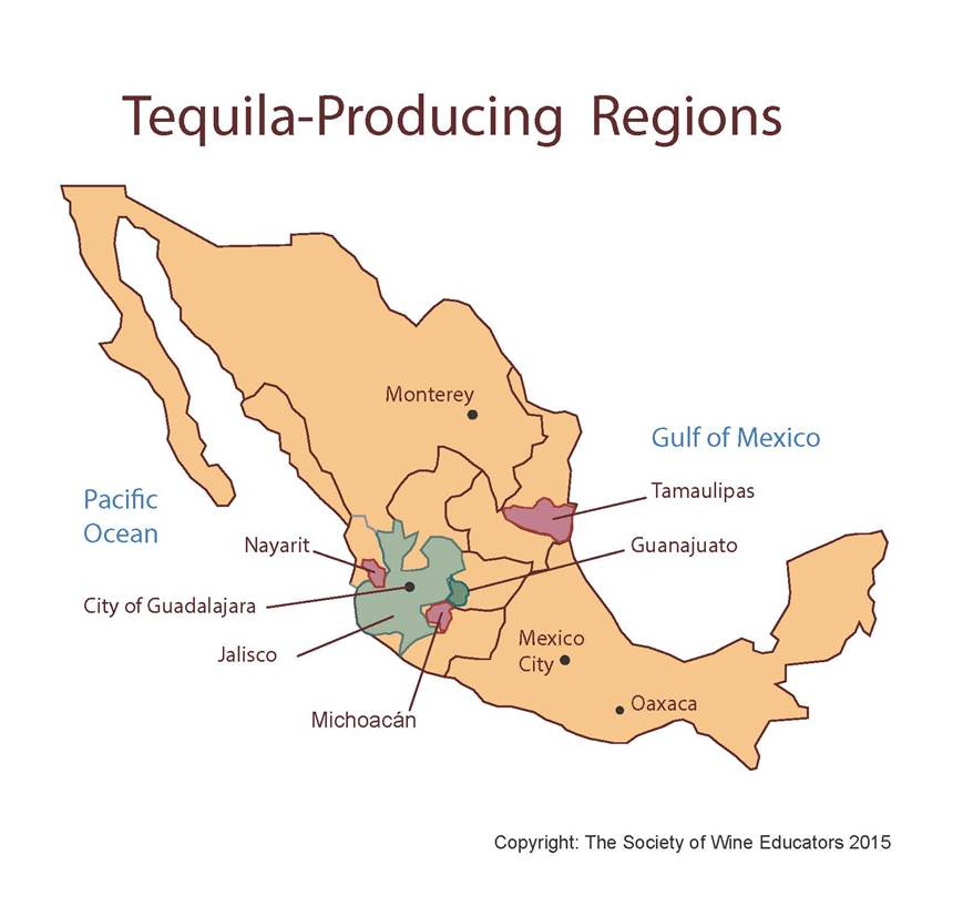 The TequilaProducing Regions Wine Wit and Wisdom