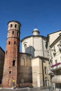 One of the many Medieval towers in Asti