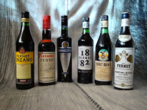 Fig 10-7 different brands of fernet