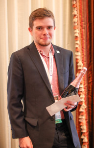 Did we mention that Jordan Cowe is the recipient of the year's Banfi Award? He's also currently the world's youngest CWE!