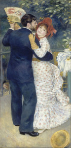 "Pierre Auguste Renoir's ""Dance in the Country"" - photo via Google Art Project"