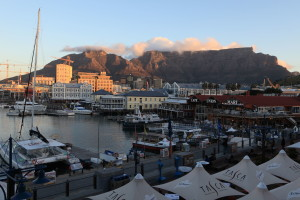 View of Cape Town from the waterfront