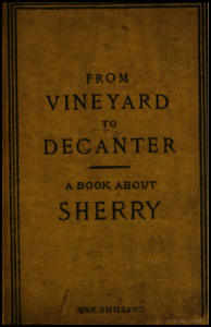 "Original cover of ""A Book about Sherry"" via Google Books"
