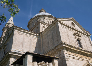 The Sanctuary of San Biagio in Montepulciano