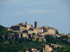 Panoramic view of Montepulciano