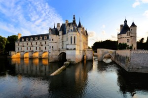 The Château de Chenonceau in the Loire Valley